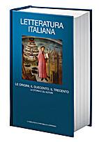 Letteratura italiana (vol. 1) Le origini, il…