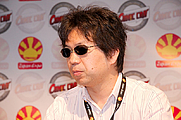 Author photo. Autograph session with Shinichirō Watanabe at Japan Expo 2009 (Paris, France) / Georges Seguin (Okki)