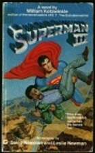 Superman III [Novelization] by William…
