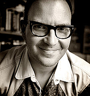 Author photo. Cory Doctorow, photographed by Jonathan Worth