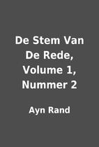 De Stem Van De Rede, Volume 1, Nummer 2 by…
