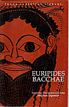 Euripides' Bacchae: Translation,…