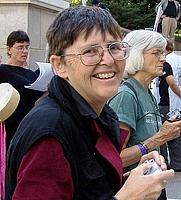 Author photo. Jo Freeman. Photo by Carol Moore.