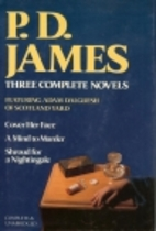 PD James: 3 Complete Novels Avsc by P.D.…