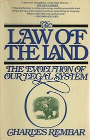 The Law of the Land: The Evolution of Our…
