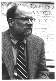 Author photo. Photo by Marcell Vandehaar, 1996