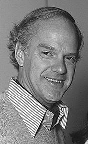 Author photo. Dolf de Vries in 1981 [credit: VARA; source: Beeld en Geluidwiki - Gallery: Marijke Merckens]