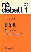 USA : et sted eller et begrep? by Harald…