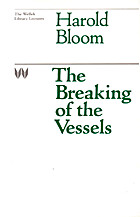 The Breaking of the Vessels (The Wellek…