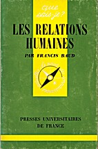 Les relations humaines by Francis Baud
