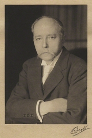 Author photo. Sir William Robertson Nicoll - by Emil Otto ('E.O.') Hoppe November 1913