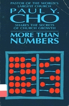 More Than Numbers: Paul Y. Cho Shares the…
