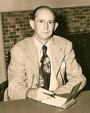 Author photo. Albert E. Brumley