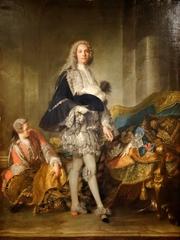 Author photo. Louis-François-Armand de Vignerot du Plessis, Duc de Richelieu, painted by Jean-Marc Nattier