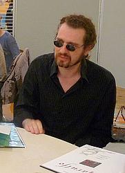 Author photo. Bruno Maïorana au Festival européen de la bande dessinée Strasbulles 2009