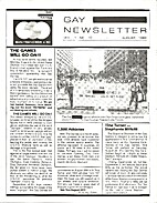 Gay Olympics Newsletter (Issue #10) United…