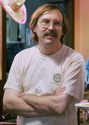 Author photo. Larry Wall in 2007 [credit: Randal Schwartz from Portland, OR]