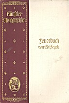 Anselm Feuerbach by Eduard von Heuck