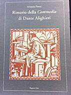 Rimario della Commedia di Dante Alighieri by…