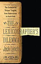 The Lexicographer's Dilemma: The Evolution…