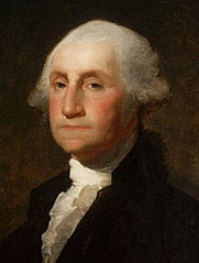Author photo. Portrait by Gilbert Stuart.
