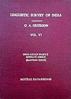 Linguistic survey of India. Vol. VI:…