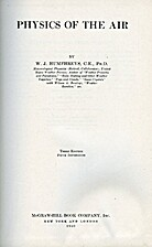Physics of The Air by W. J. Humphreys