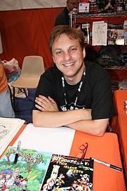 Author photo. San Diego Comic-Con 2006, photo by <A HREF=&quot;http://www.flickr.com/people/pinguino/&quot;>pinguino k</A>
