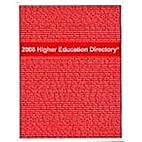 2008 Higher Education Directory by Jeanne M.…