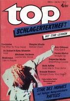 Top-Schlagertextheft mit Star-Lexikon. Heft…