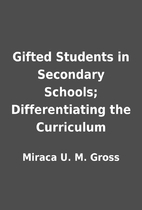 Gifted Students in Secondary Schools;…