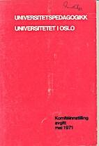 Universitetspedagogikk. Universitetet i…