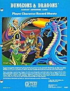 Dungeons & Dragons: Player Character Record…