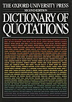 The Oxford University Press dictionary of…