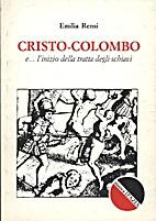 Cristo-Colombo e... l'inizio della tratta…