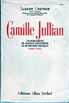 Camille jullian un demi siècle de science…