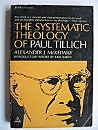 The systematic theology of Paul Tillich; a…