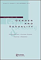 Studies in Gender and Sexuality by Ken…