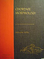 Chordate Morphology by Malcolm Jollie