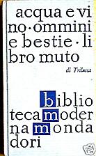Acqua e vino: Ommini e bestie: Libro muto by…