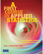 A First Course in Applied Statistics by…