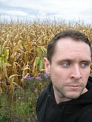 Author photo. Photograph of author Christopher Barzak, taken in Kinsman, Ohio [credit: Christopher Barzak]