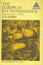 The European reconnaissance ; selected…