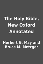 The Holy Bible, New Oxford Annotated by…