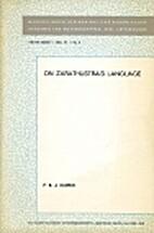 On Zarathustra's Language (Mededelingen Der…