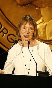 Author photo. Susan J. Douglas [credit: Peabody Awards]