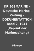 KRIEGSMARINE - Deutsche-Marine-Zeitung -…