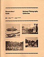 Researchers' guide : National photography…