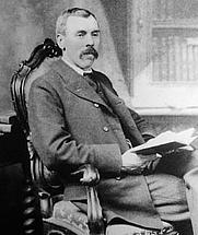 Author photo. H. F. Baker. Wikipedia.