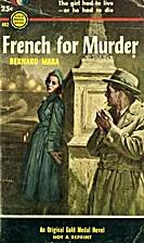 French for murder by Bernard Mara